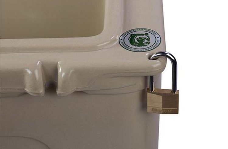 Locking Your Cooler with Cooler Locks